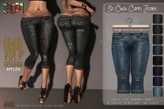 [ S H O C K ] WowMeh - So Chich Capri Jeans Vendor | Flickr - Photo Sharing!