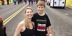 Ethan Saunders didn't let his rheumatoid arthritis stop him! At 9-years old he completed a 10-mile run in Oregon.