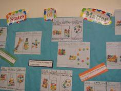States of Matter activity/bulletin board
