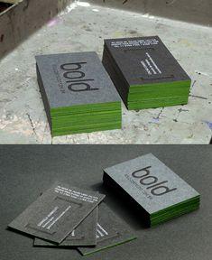 Unique Letterpress Cards