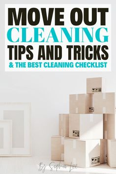 I am so happy I found this! I am moving out this month and was so overwhelmed about cleaning and getting my deposit back. I feel so much less overwhelmed now and I am fully prepared to move out! Moving House Tips, Moving Tips, Moving Hacks, Cleaning Checklist, Cleaning Hacks, Move Out Cleaning, I Am Moving, I Am Happy, Need To Know