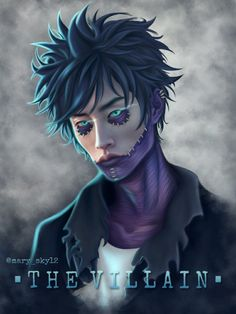 The Villain, Follow Me On Instagram, Boku No Hero Academia, Artworks, Joker, Mary, Google, Artist, Fictional Characters