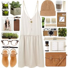Coffee with cream by vv0lf on Polyvore featuring Organic by John Patrick, K. Jacques, Oasis, Topshop, Incase, Burberry, Aesop, Le Labo, Louis Vuitton and Hermès