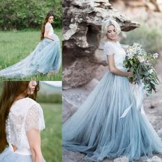 I found some amazing stuff, open it to learn more! Don't wait:https://m.dhgate.com/product/vintage-gray-country-beach-wedding-dresses/394700749.html