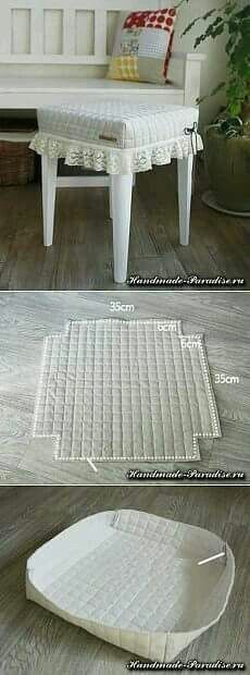 Chair Covers, Table Covers, Cushions, Pillows, Soft Furnishings, Slipcovers, Diy Furniture, Furniture Design, Diy Home Decor