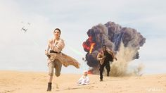 BEST.   Couple and Their Baby Create Epic Star Wars-Inspired Photo Shoot - My Modern Met