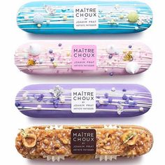 A choux-in for best pastry shop in town, Maitre Choux brings French flair - and delicious eclairs - to Soho and South Kensington. Eclairs, Profiteroles, Eclair Recipe, Desserts To Make, Delicious Desserts, Cakepops, Cake Cookies, Cupcakes, Sweets