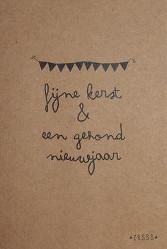 Zusss l Wij wensen jou een fijne kerst & een gezond nieuwjaar l http://www.zusss.nl/product/kerstkaarten-10-stuks-per-pakje/
