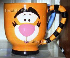 Tigger coffee mug.