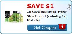 New Coupon!  SAVE $1.00 off ANY GARNIER® FRUCTIS® Style Product (excluding 2 oz trial size)! - http://www.stacyssavings.com/new-coupon-save-1-00-off-any-garnier-fructis-style-product-excluding-2-oz-trial-size/