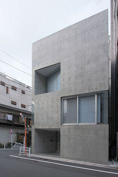House at Shinkawa by naoyafujii