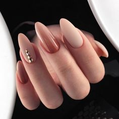 50 classy nail designs with diamond ideas that will steal the show . - 50 classy nail designs with diamond ideas that will steal the show - Oval Nails, Diamond Nails, Nude Nails, Diamond Jewelry, Nails With Diamonds, White Nails, Glitter Nails, White Polish, Cute Acrylic Nails