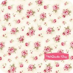 Ellie Ann Pink Petite Rose   pretty fabric for a sweet granddaughter's dress.
