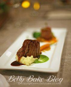 beef fillet, chef norman heath, dinner, supper, tasting menu, betty bake blog, tasting, food