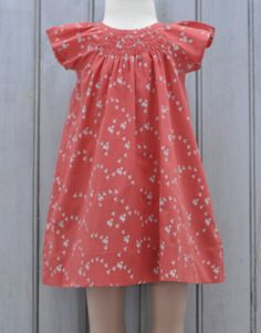 La Queue du Chat Organic Cotton Paris Dress, Chick to Cheek on Red – Snowflakes for Charli www.snowflakesforcharli.com.au