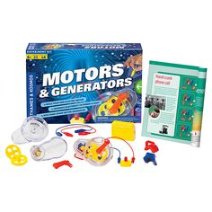 Buy Thames & Kosmos Motors & Generators Experiment Set Online at johnlewis.com