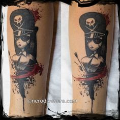 #tattoo #tatuaggio #cheyenne #pen #thunder #comics #mistress #domina #skull #teschio #pirata #pirates #ink #inkedgirl #suicide #trash #polka #nerodivenere