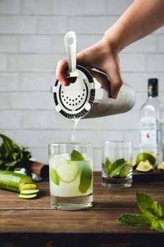 Cucumber & Mint Mojito - Summer In A Glass | Will Cook For Friends
