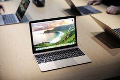 New Retina MacBook (2015), gold