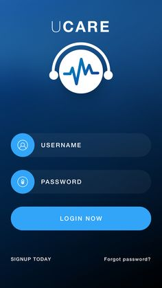 UCARE: Medical Care App - by LVIVCODE   #ui #icon
