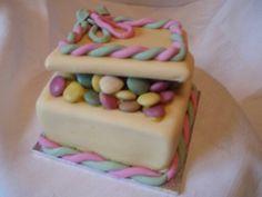 Smarties mini cake