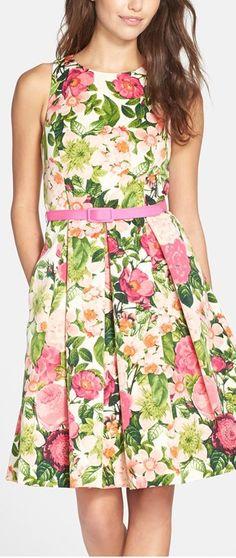 bright, spring-y floral