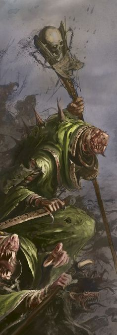 http://wellofeternitypl.blogspot.com Age of Sigmar Artwork | Skaven #artwork…
