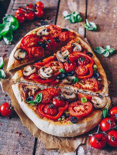 """Der beste Pizza-Teig (""""American Pizza"""") – Bianca Zapatka"""