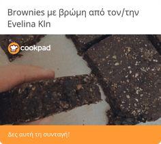 Brownies με βρώμη Brownies, Snacks, Cake Brownies, Appetizers, Treats