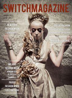 Nel numero di Ottobre di #switchmagazine sono a pag.8 con la sfilata di Christina Yi alla NYFW!