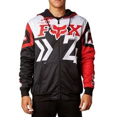 2013 Fox Racing Anthem Casual Adult Cold Weather Pullover Sweatshirt Hoody