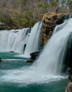 Below Little River Falls, Alabama