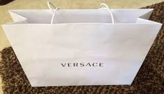 Image result for versace shopping bags