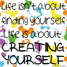 Creating Yourself Poster van Louise Carey bij AllPosters.nl