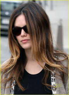 Rachel Bilson ombre hair