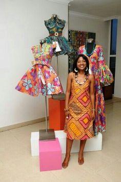Ghanain designer