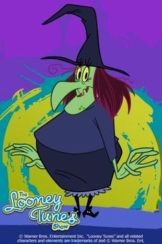 The witch from Looney Tunes. I always loved her! Good Cartoons, Old School Cartoons, Looney Tunes Cartoons, Classic Cartoons, Animated Cartoons, Disney Cartoons, Funny Cartoons, Vintage Cartoon, Cartoon Tv