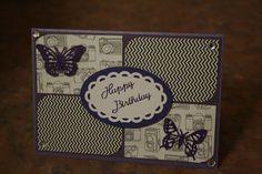 Purple Camera Card