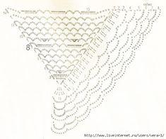 Delicadezas en crochet Gabriela: Patrones de chal