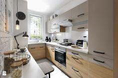 Kuchnia Semi Line - zdjęcie od Black Red White