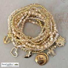 The Shore bracelet stack watermark