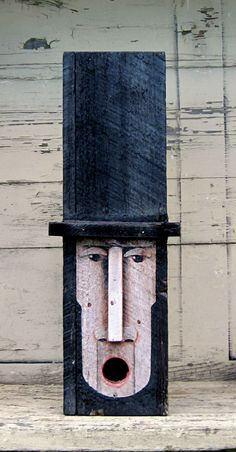 Abe Lincoln Birdhouse..by Tim Campbell...www.tcampbellart.com or Tim Campbell Art on facebook