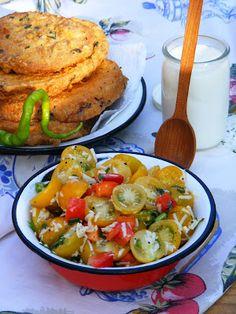 Makacska konyhája: Sárga koktélparadicsom saláta Meat, Chicken, Food, Essen, Meals, Yemek, Eten, Cubs