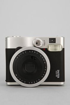 Fujifilm Instax Mini 90. Can find it on amazon. I was thinking for the backdrop portion at the meet and greet that Kim mentioned. The pictures come out long and thin. There's another fujifilm camera that the pictures come out and they're bigger if that's an option. But we can get an older Polaroid camera if that'll be less expensive!