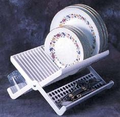 Folding Dish rack for camping