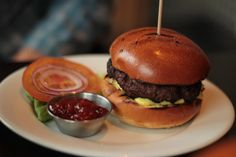 Inverness top things to do - Restaurant the Kitchen - Copyright Pamela Graham Burger Restaurant, Cheese Burger, Clotted Cream, Inverness Scotland, Fast Growing, Amazing Destinations, Graham, Hamburger, Yummy Food