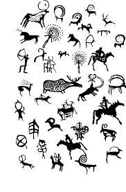 Arte Tribal, Tribal Art, Ancient Tattoo, Paleolithic Art, Cave Drawings, Native American Symbols, Tatoo Art, Doodles Zentangles, Gourd Art