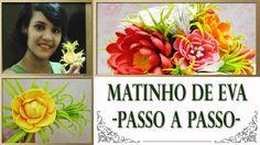 MATINHO DE EVA -  PASSO A PASSO