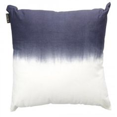 Just love this Aura Indigo Dip Dyed Cushion - stunning