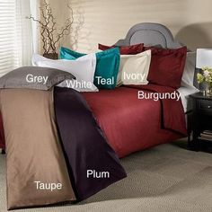 800 Thread Count Wrinkle Resistant 3-piece Duvet Cover Set King/Cal. King - White
